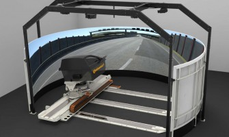 """""""Continental"""" naujas padangas bandys virtualiame bandymų stende"""